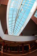 Stock Photo of Modern architecture interior