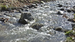 Water spring stream Stock Footage