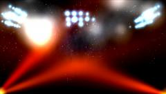 Stage light. Background Stock Footage
