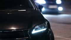 Expensive car Stock Footage