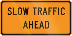 Slow Traffic Ahead Piirros