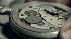 Watch Mechanics Stock Footage