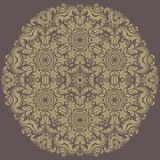 Orient  Pattern. Abstract Ornament - stock illustration