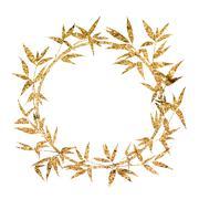 Stock Illustration of Bamboo frame