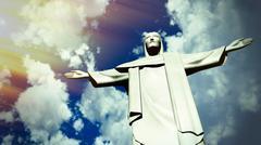 Stock Illustration of Christ the Redeemer statue in Ro de Janeiro