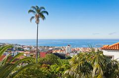 Funchal city, Madeira island, Portugal - stock photo