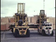 FORKLIFTS Stock Footage