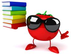 Stock Illustration of Fun tomato