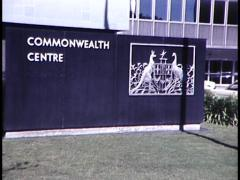 COMMONWEALTH CENTRE EXTERIOR Stock Footage