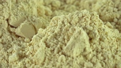 Soy Flour (not loopable) Stock Footage