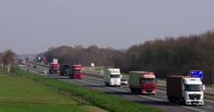 Dutch highway the Netherlands Stock Footage