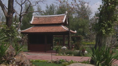 Ancient Siam Park at Samut Prakan Province in Thailand Stock Footage