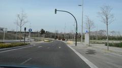 Desolate Empty Streets Stock Footage