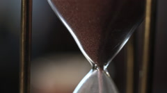 Time goes by, hourglass Stock Footage