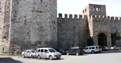Walls of Constantinopole 4K Stock Footage