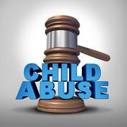 Child Abuse - stock illustration