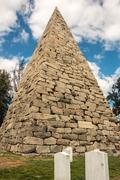 Hollywood Cemetery Pyramid Richmond Kuvituskuvat