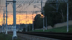 RUSSIA.TRANSPORT- 2012 Railways without trains Stock Footage