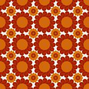 Pattern from curls Stock Illustration