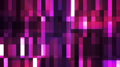 Broadcast Twinkling Hi-Tech Small Bars, Pink, Abstract, Loopable, HD Stock Footage