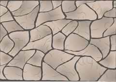 Stock Illustration of cracked