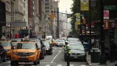 Traffic Officer Stock Footage
