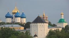 SERGEEV POSAD.RUSSIA-2012: Trinity Lavra of St.Sergius Stock Footage