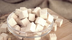 Tofu (not loopable) - stock footage