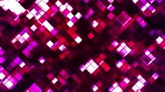 Broadcast Twinkling Squared Diamonds 09 - stock footage