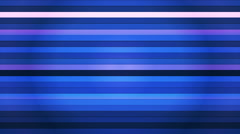 Broadcast Twinkling Horizontal Hi-Tech Bars, Blue, Abstract, Loopable, HD Stock Footage