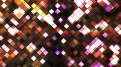 Broadcast Twinkling Squared Diamonds 13 Stock Footage