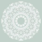 Damask  Pattern. Orient Ornament - stock illustration