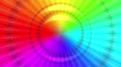 Rainbow background, Seamless Loop Stock Footage