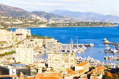View of Monaco Kuvituskuvat