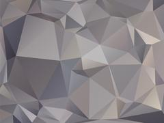 Abstract triangular graphite gray brown background Stock Illustration