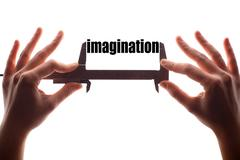 Small imagination - stock photo