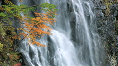 Ichino Waterfall, Akita Prefecture, Japan Stock Footage