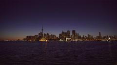 Toronto Skyline. 4K UHD Stock Footage
