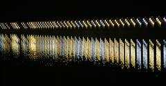 Staggered Lights On River Stock Photos