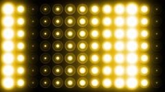 Light Flashing Yellow Background - stock footage