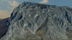 Apuseni mountains Piatra secuiului shadows time lapse Stock Footage