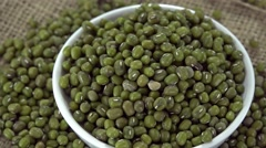 Mung Beans (seamless loopable) Stock Footage