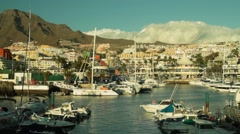 Yachts in yachtclub 2 Stock Footage