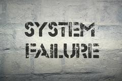 Stock Photo of system failure