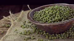 Mung Beans (not loopable) Stock Footage
