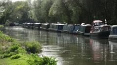 English Longboats ( Best shot ) Stock Footage
