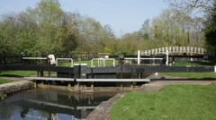 English River lock Stock Footage