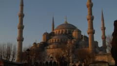 Blue Mosque ISTANBUL, TURKEY Stock Footage