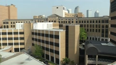 Pan of Tampa General Hospital Stock Footage