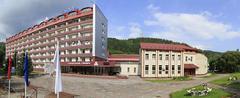 Sanatorium Siberia in the resort Belokuriha - stock photo